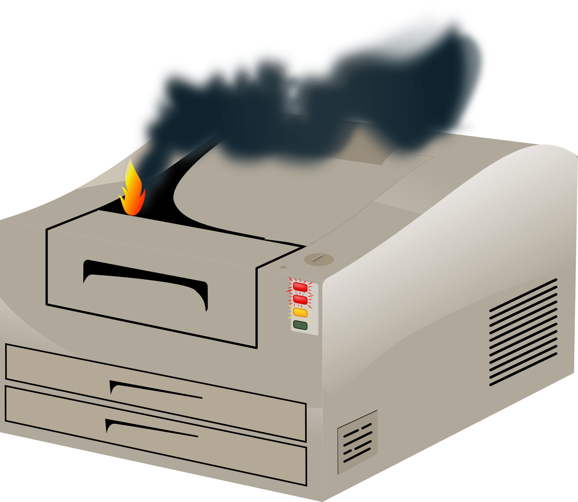 The most common printer issues